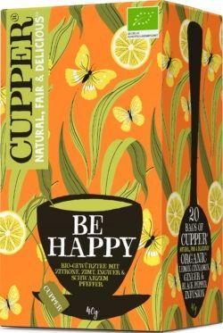 Cupper Be Happy Gewürtztee 4x40g