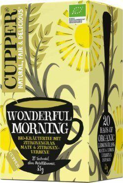 Cupper Wonderful Morning 4x35g