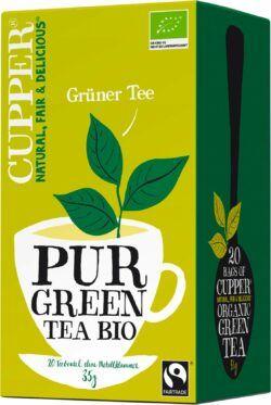 Cupper Grüner Tee 4x35g
