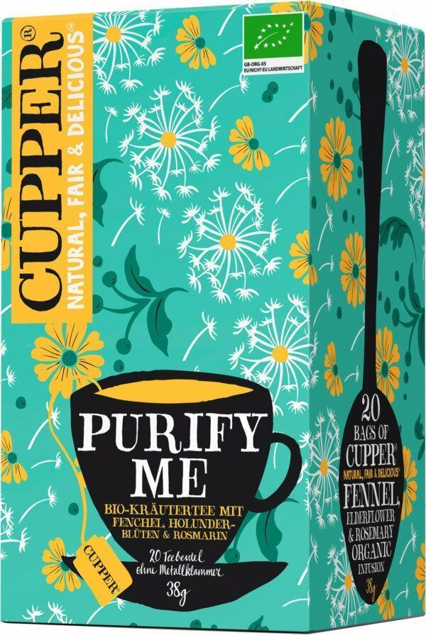 Cupper Purify Me Tee 4x38g