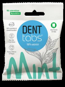 DENTTABS Mint - ohne Fluorid 125Stück