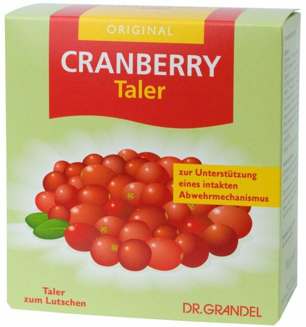 DGRA Cranberry Taler 100g