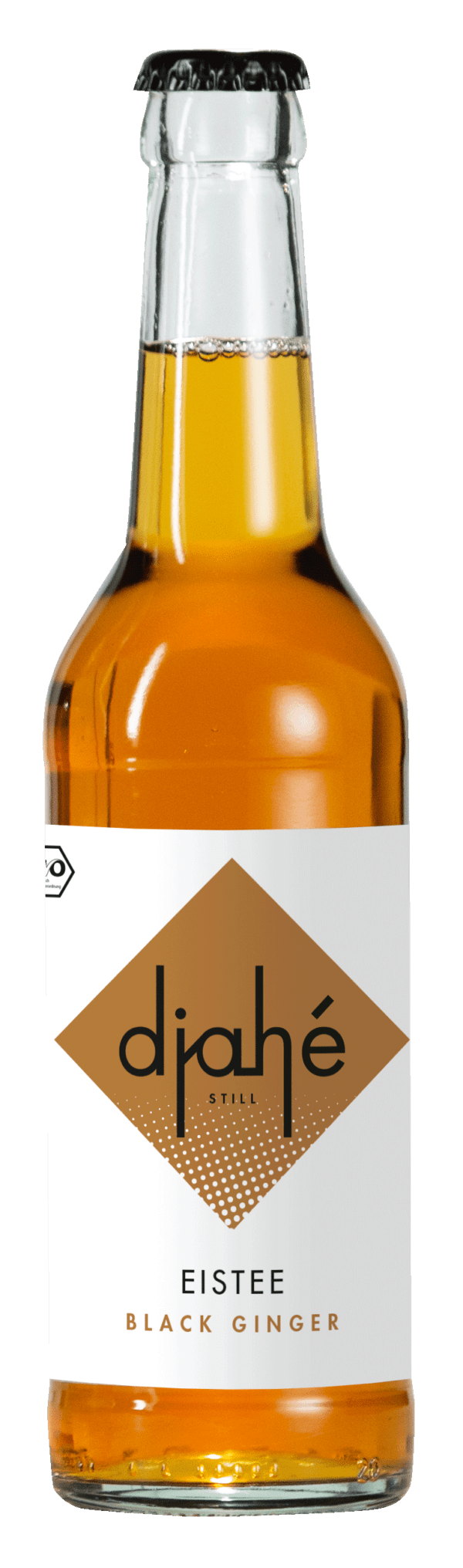 DJAHÉ - Bio EISTEE Black Ginger 0,33l MW 24x0,33l