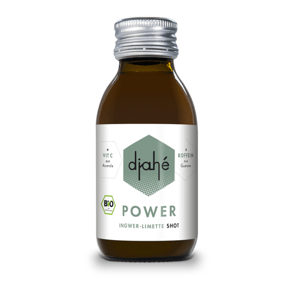 DJAHÉ - Bio Ingwer-Limette Shot 0,1l
