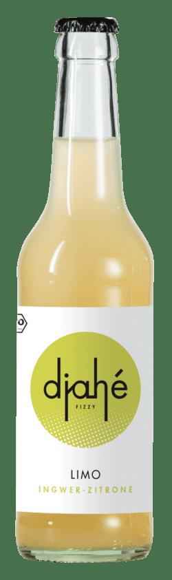 DJAHÉ - Bio LIMO Ingwer-Zitrone 0,33l MW 24x0,33l