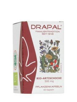 DRAPAL Bio-Artischocken 500 mg Kapseln 60 Stück 33g