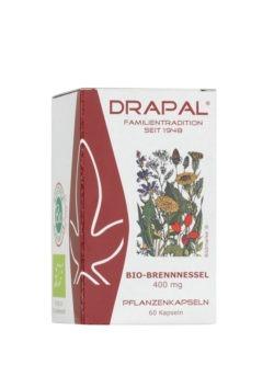 DRAPAL Bio-Brennnessel 400 mg Kapseln 60 Stück 27g