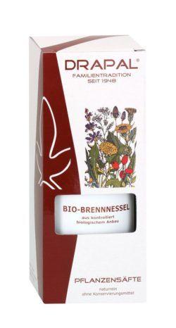 DRAPAL Bio-Brennnessel Pflanzensaft 200ml