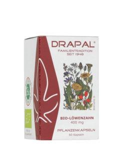 DRAPAL Bio-Löwenzahn 400 mg Kapseln 60 Stück 27g