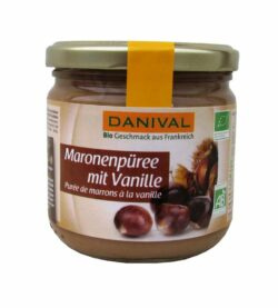 Danival Maronenpüree mit Vanille 6x380g