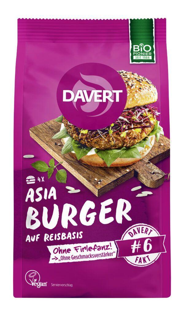 Davert Asia Burger 6x160g