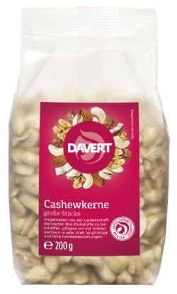 Davert Cashewkerne große Stücke 6x200g