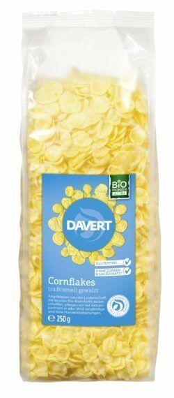 Davert Cornflakes ohne Salz und Zucker glutenfrei 6x250g