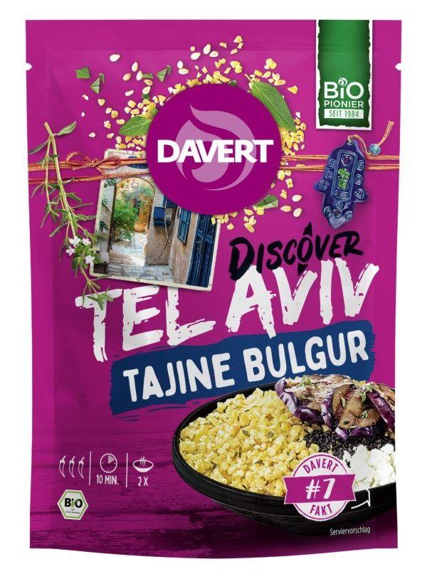 Davert Discover Tel Aviv Tajine Bulgur 8x125g