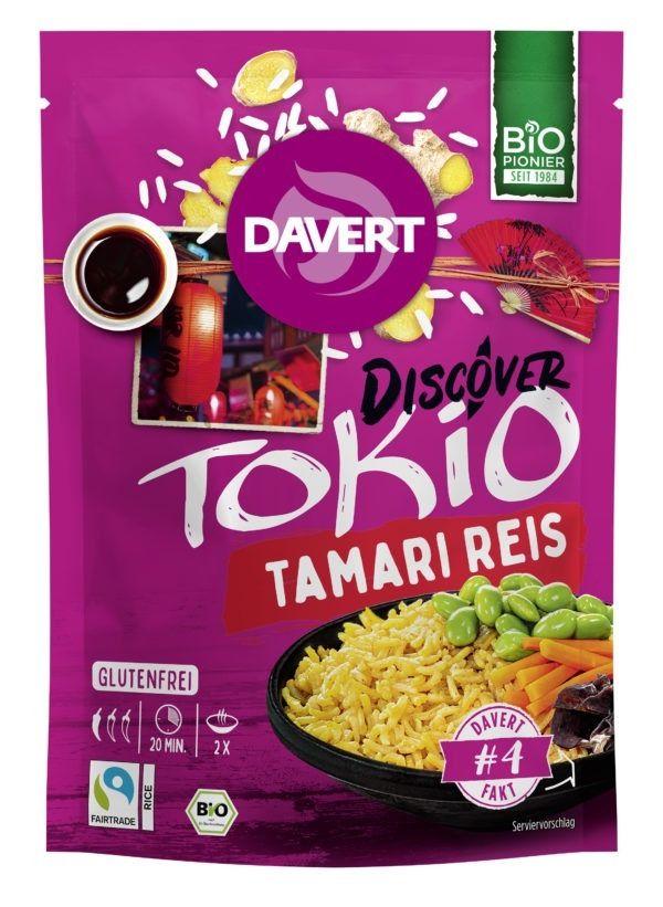 Davert Discover Tokio Tamari Reis Glutenfrei 125g Fair Trade 8x125g
