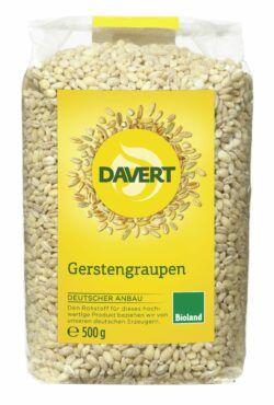 Davert Gerstengraupen Bioland 8x500g