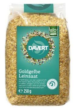 Davert Goldgelbe Leinsaat 8x250g