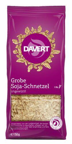 Davert Grobe Soja-Schnetzel 6x150g