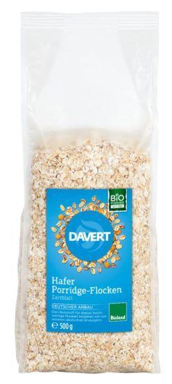 Davert Hafer Porridge-Flocken Zartblatt 6x500g