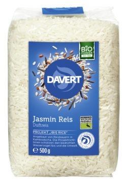 Davert Jasmin Reis weißer Duftreis 8x500g