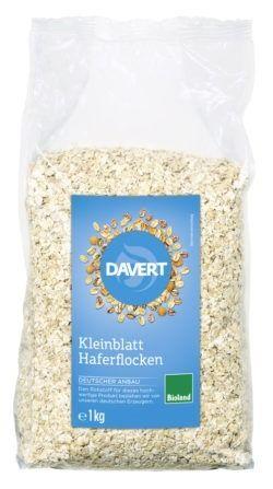 Davert Kleinblatt Haferflocken Bioland 4x1kg
