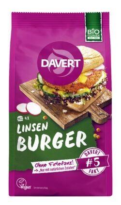 Davert Linsen Burger 6x160g
