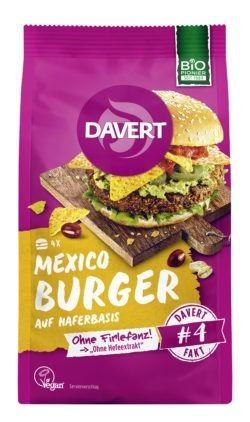 Davert Mexico Burger 6x155g