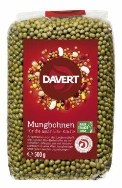Davert Mungbohnen Fair Trade IBD 8x500g