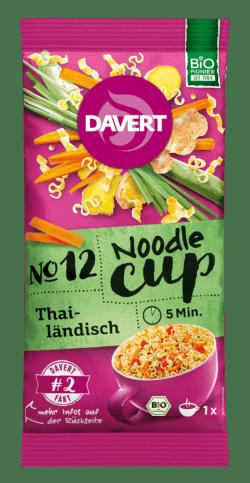 Davert Noodle-Cup Thailändisch 8x60g