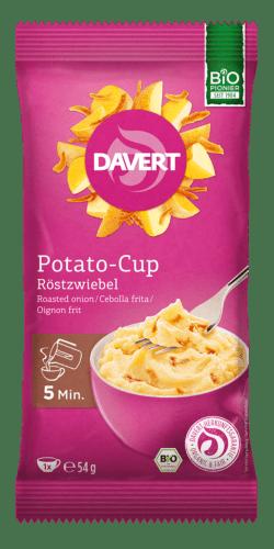 Davert Potato-Cup Röstzwiebel 8x54g