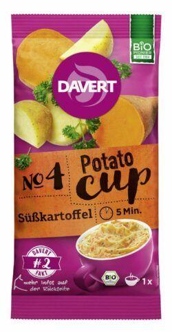Davert Potato-Cup Süßkartoffel 8x57g