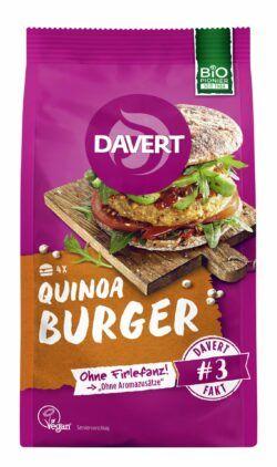 Davert Quinoa Burger 6x160g