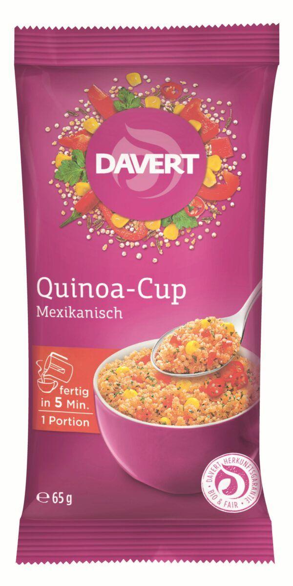 Davert Quinoa-Cup Mexikanisch 8x65g