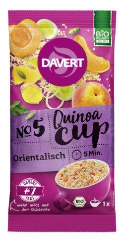 Davert Quinoa-Cup Orientalisch 8x65g