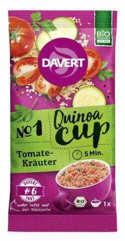 Davert Quinoa-Cup Tomate-Kräuter 8x65g