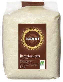 Davert Rohrohrzucker Naturland 8x1kg