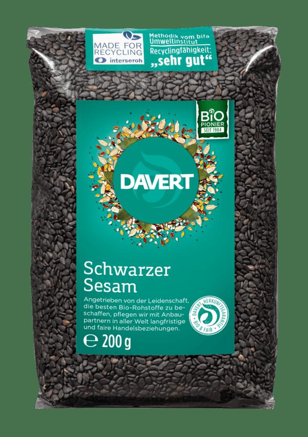 Davert Schwarzer Sesam 8x200g