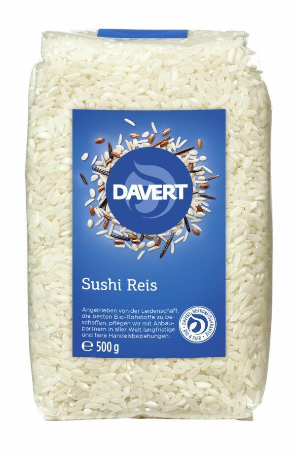 Davert Sushi Reis 8x500g