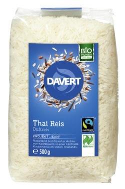Davert Thai Reis weiß Fairtrade Naturland 8x500g