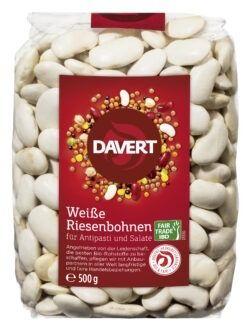 Davert Weiße Riesenbohnen Fair Trade IBD 8x500g