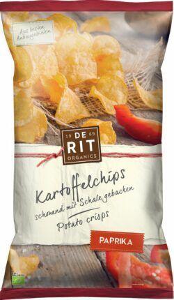 De Rit Kartoffelchips Paprika 12x125g