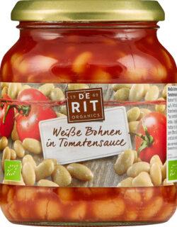 De Rit Weiße Bohnen in Tomatensoße 6x360g