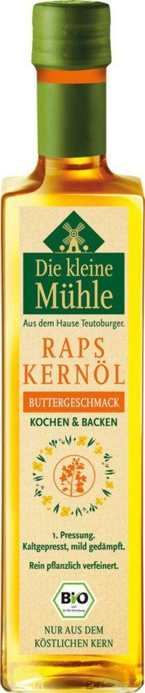 Die kleine Mühle Kl. Mühle Raps-Kernöl BUTTERGESCHMACK 6x500ml