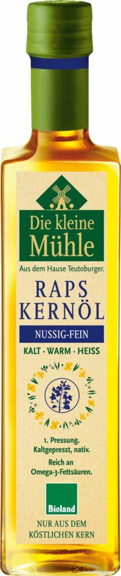 Die kleine Mühle Kl.Mühle Raps-Kernöl KALT-WARM-HEISS 6x500ml