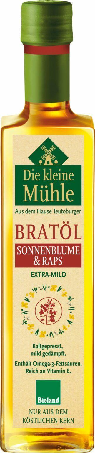 Die kleine Mühle Kleine Mühle BRATÖL Sonnenblumen- & Rapsöl 6x500ml