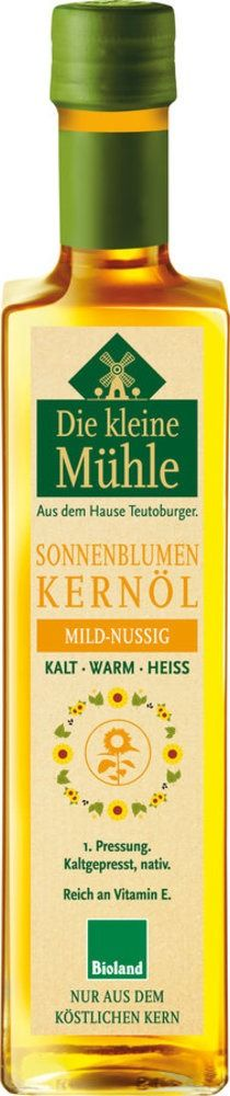 Die kleine Mühle Kleine Mühle Sonnenblumenöl-Kernöl 6x500ml