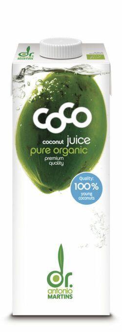 Dr. Antonio Martins Coco Juice Pur 12x1000ml