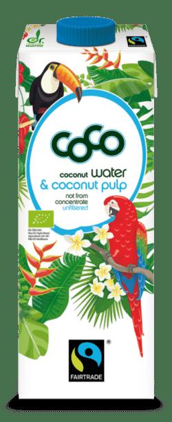 Dr. Antonio Martins Coco Water & Coconut Pulp Fairtrade Pur 12x1000ml