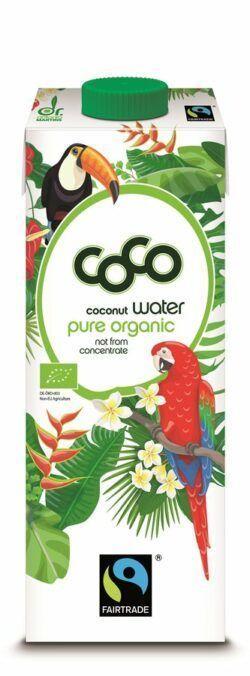 Dr. Antonio Martins Coco Water Fairtrade Pur 12x1000ml