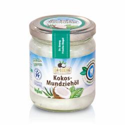 Dr. Goerg Premium Bio-Kokos-Mundziehöl mit Minze & Eukalyptus 180ml